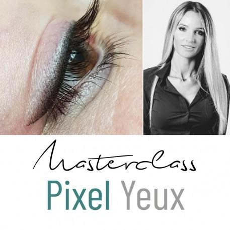 Masterclass Carole Evrard - Pixel yeux - Medico Derm