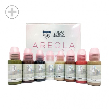 Pigment Para - Areola Kit Perma Blend - Medico-Derm